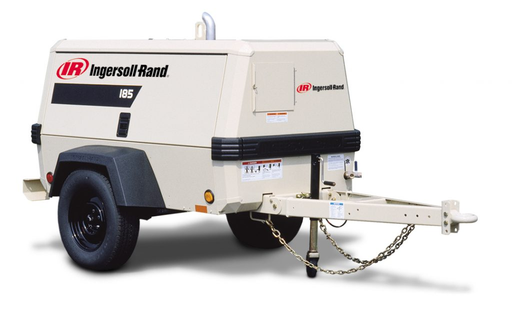 Ingersoll Rand 185 Air Compressor