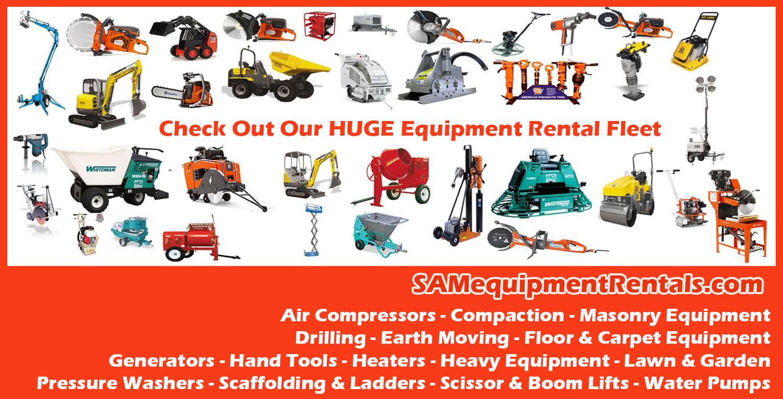 Sam Equipment Rentals And Sales Ltd