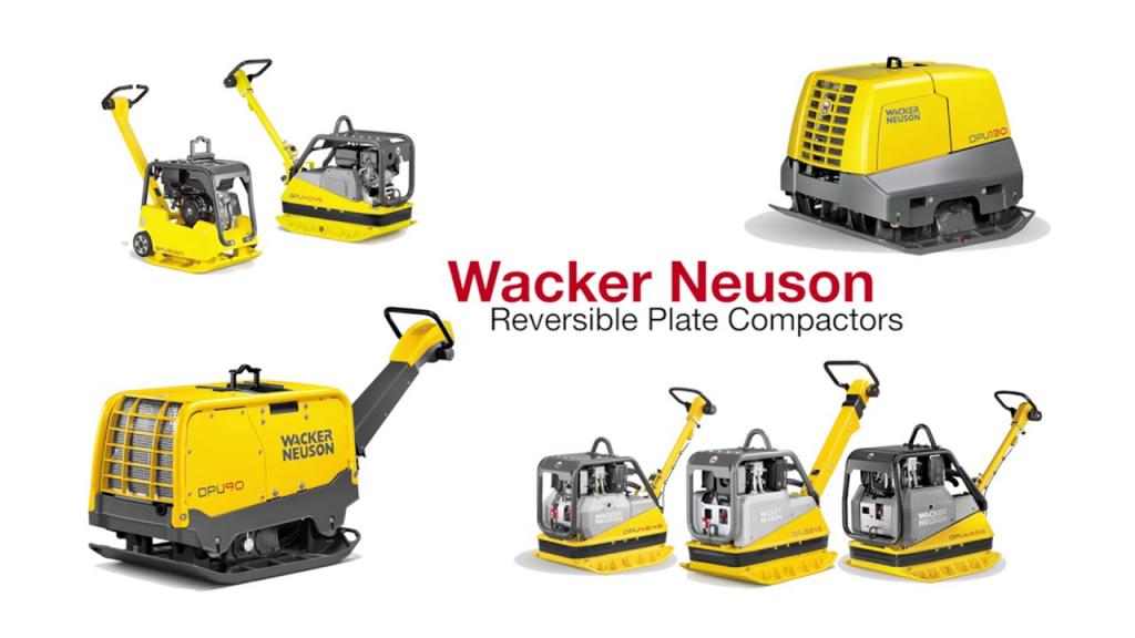 rent Wacker Neuson compaction equipment at Sam Equipment Rentals Sydney NS