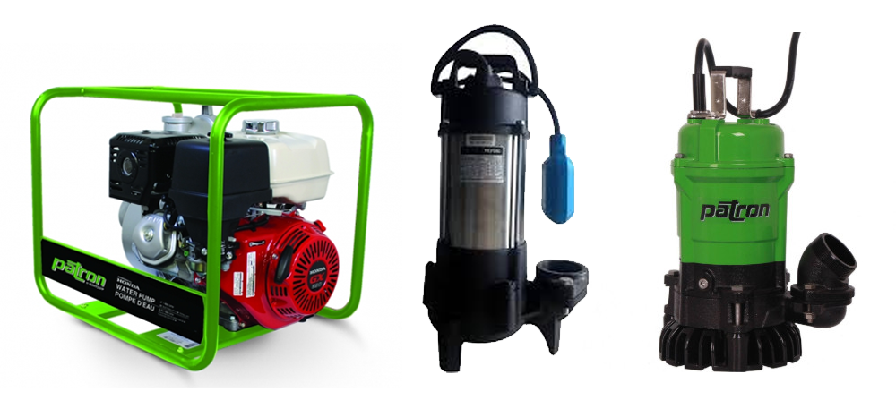 Water Pump Rentals Submersible Pumps Sydney NS